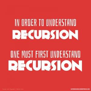 Understand Recursion