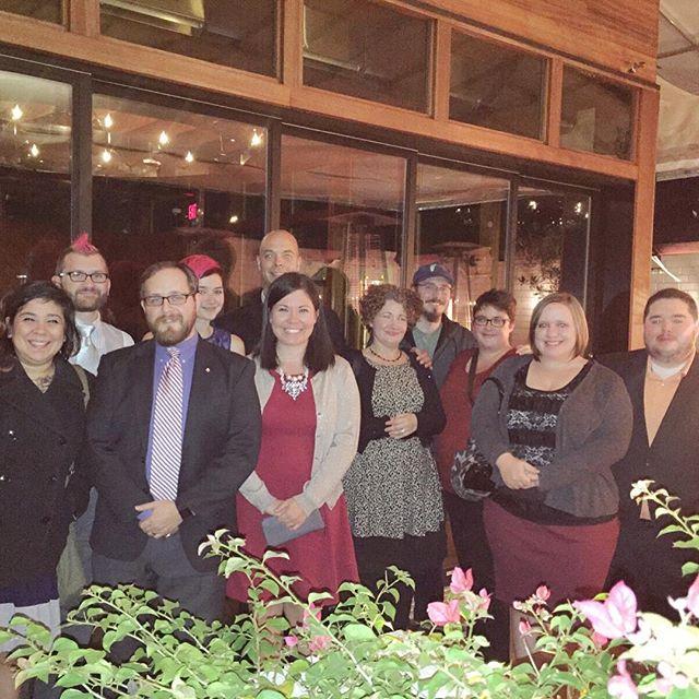 Austinmatticians holiday dinner meetup. #automattic #austin