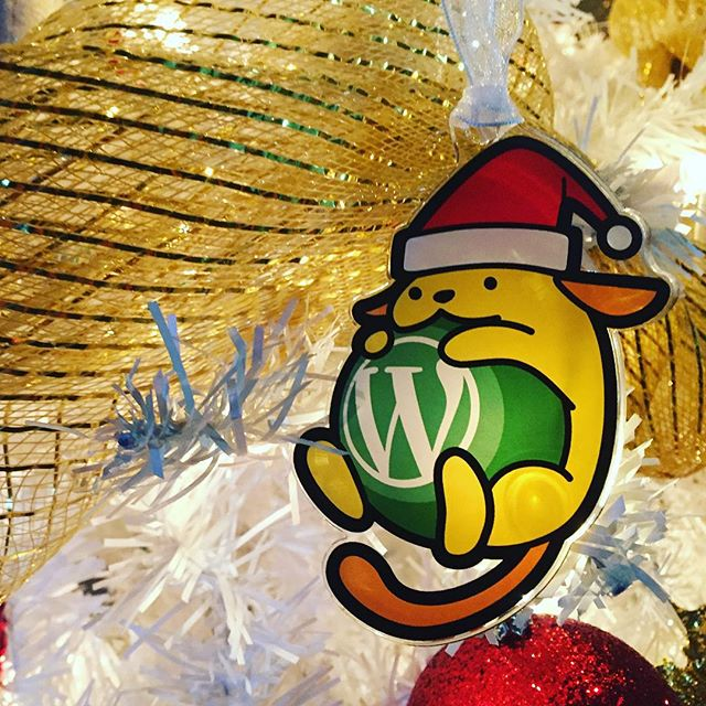 My #wapuu Christmas #ornament came in today. Thanks Automattic ?