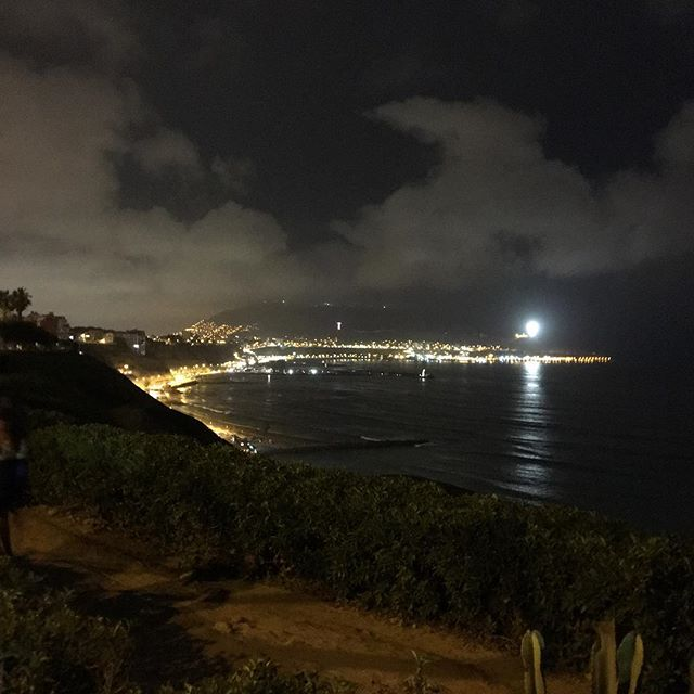 Oceanside view in Barranco