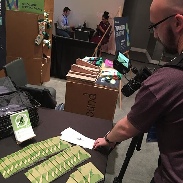 Media of the media guy. ? On that note, come see us at the #jetpack booth! #meta #wooconf
