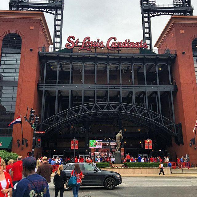 Third base entrance at Busch Stadium.