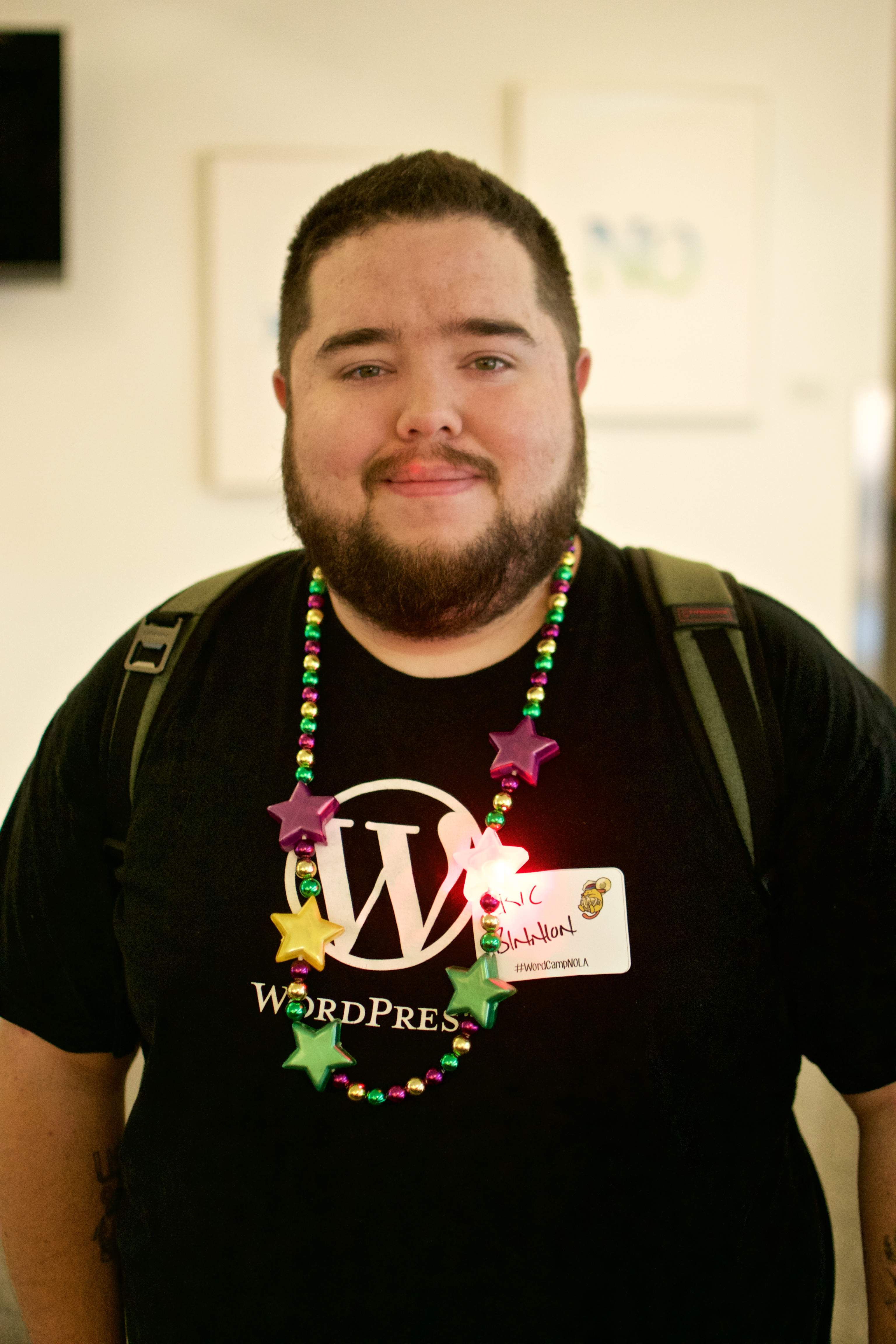 Eric Binnion at WordCamp NOLA 2016