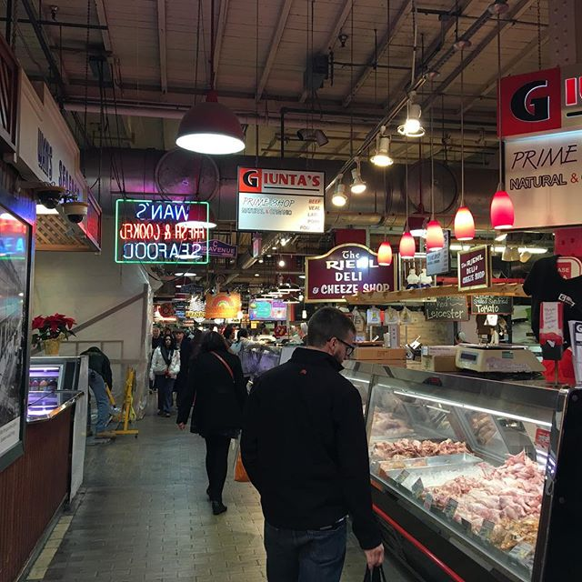 @gymshortmechanic at Reading Terminal Market.