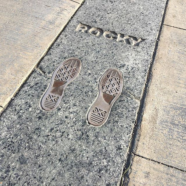 For those that decide to run up the Rocky steps, you can even stand in the same place he did.