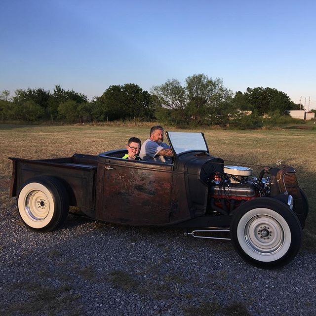 Uncle Kevin took the kids for a ride in his truck yesterday!
