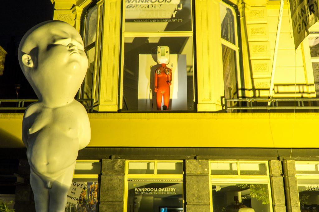 Statue in Amsterdam