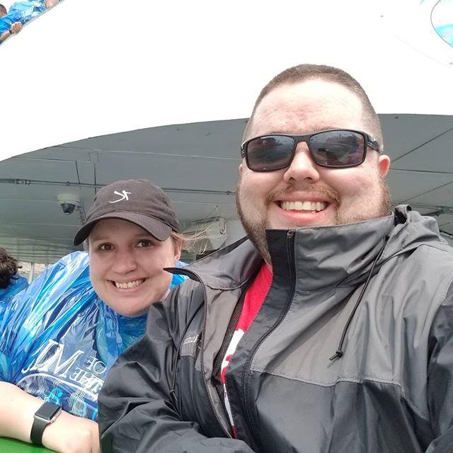 Sara and I on Maid of the Mist