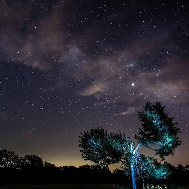 A shot of mine from some night shooting with Mom this past Friday night.